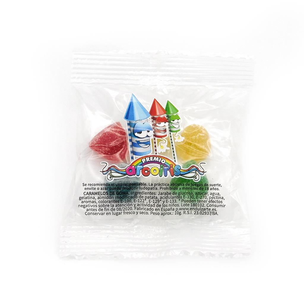 Bolsa 10 g. con etiqueta