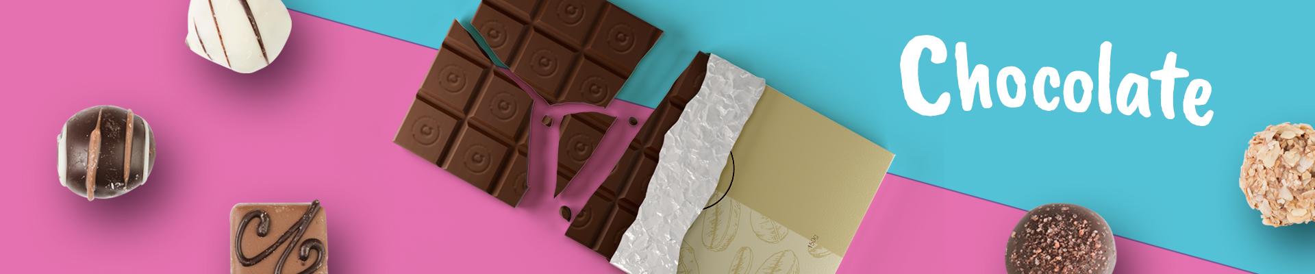 chocolates y bombones con publicidad