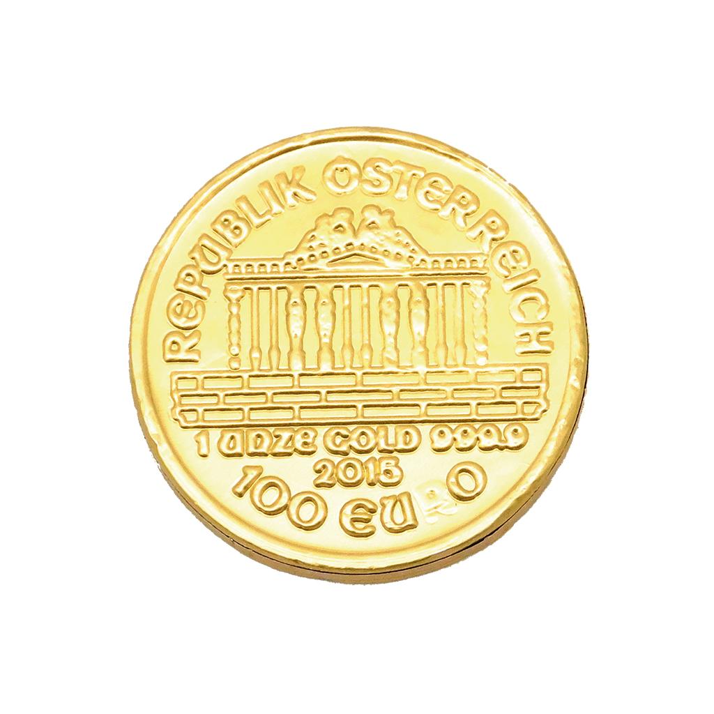 Moneda 65 mm.