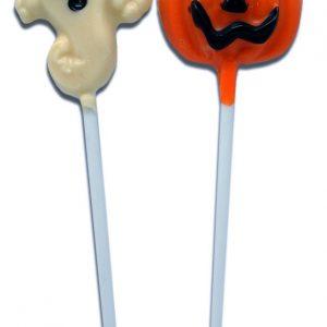 piruleta-chocolate-pequeña-fantasma-calabaza-halloween