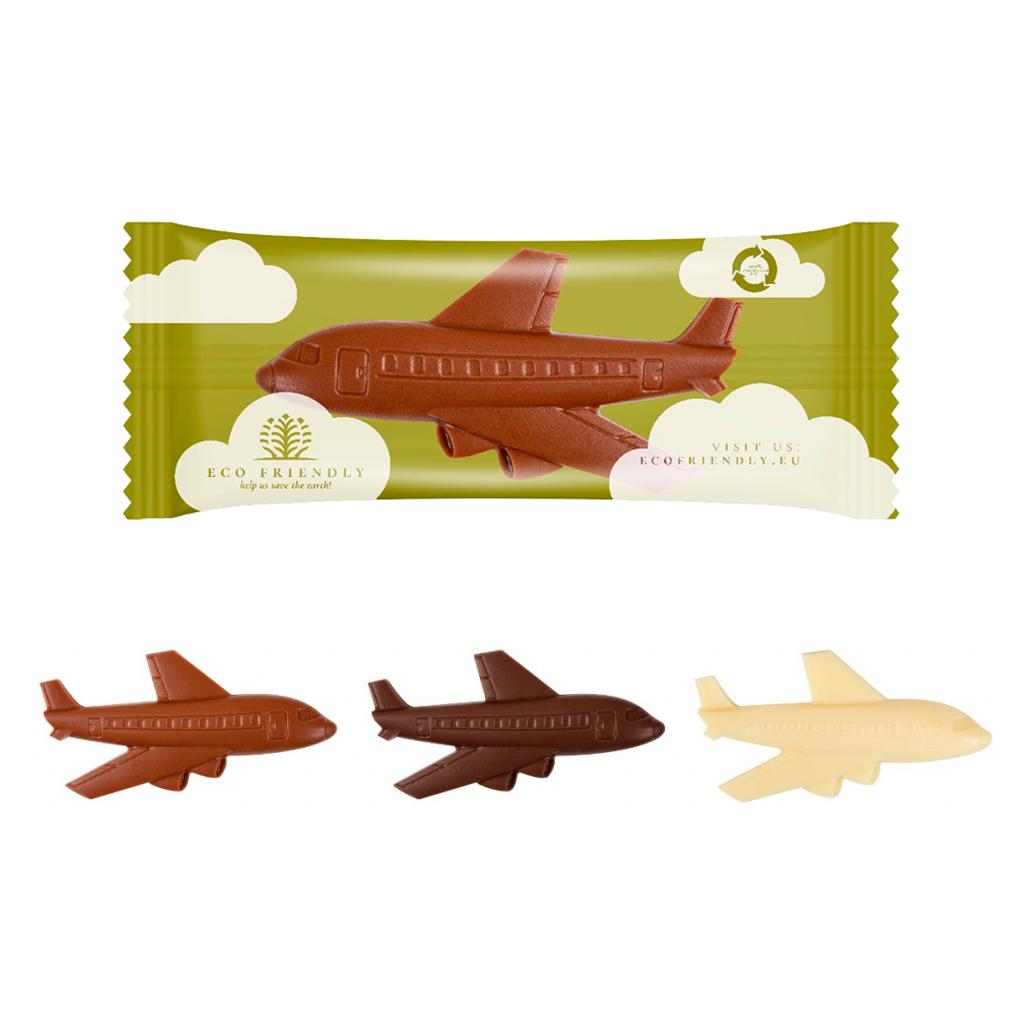 Avión chocolate