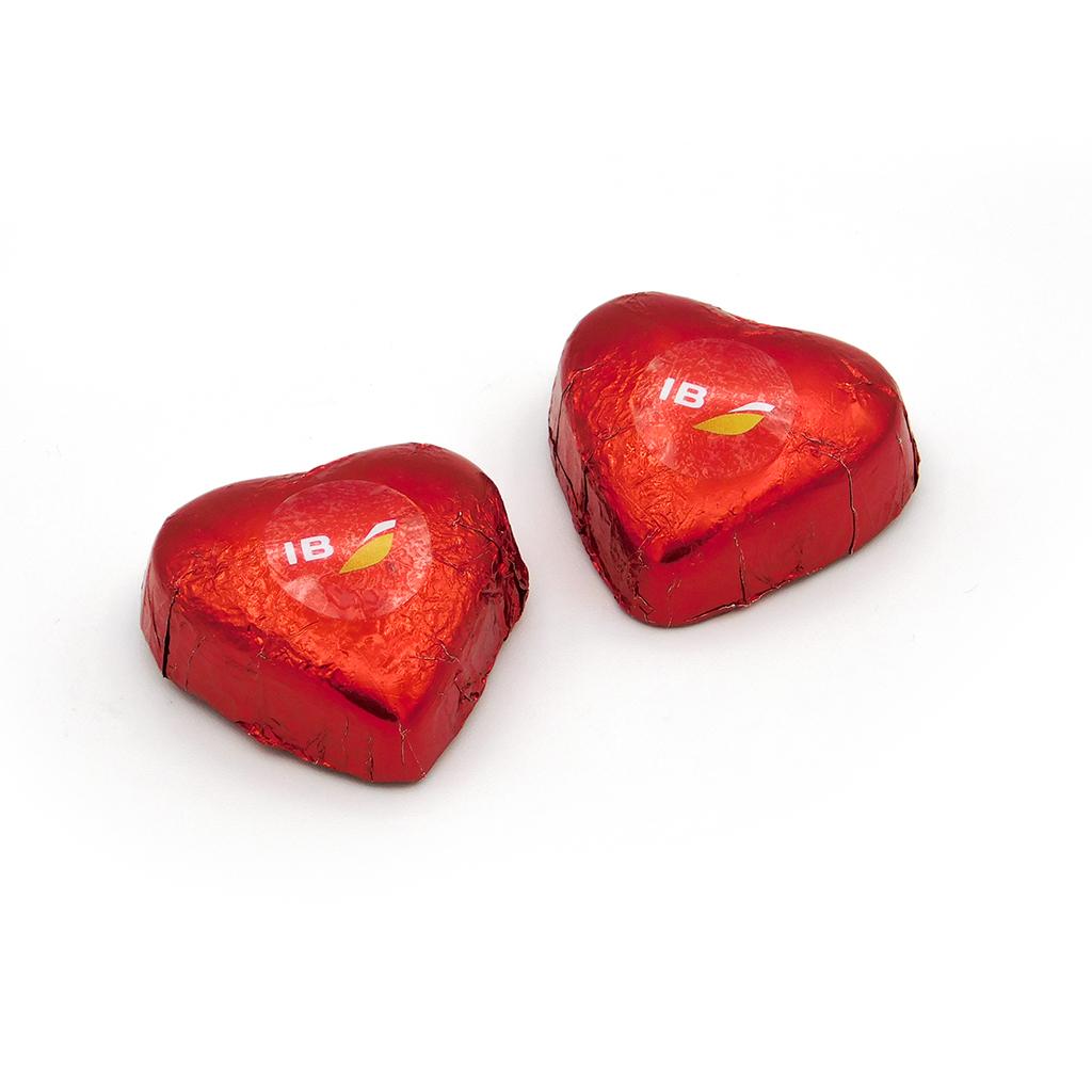 Bombón corazón chocolate